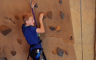 Check Out Langer's Climbing Wall for Entertainment in Sherwood